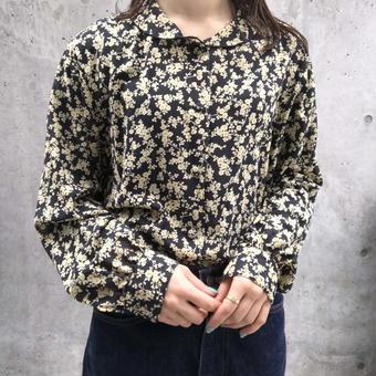 flowerpattern  blouse