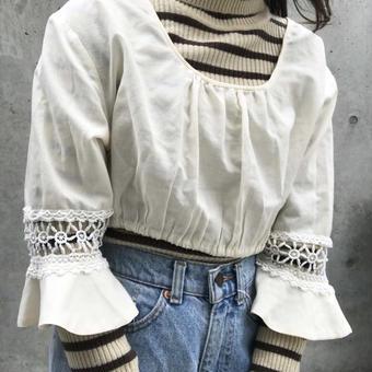 short cotton tops