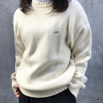 aloha 刺繍sweater