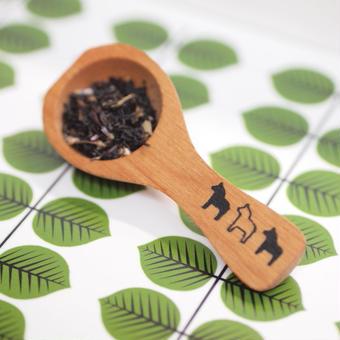★送料無料★3Horses木製コーヒースプーン