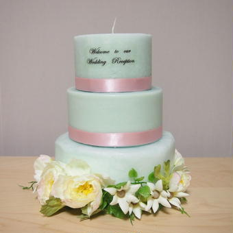 WELCOME CANDLE CAKE