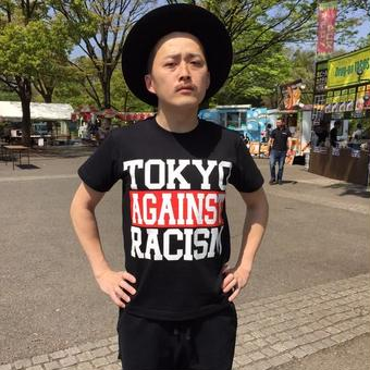 Tee: TOKYO AGAINST RACISM Tee(black)