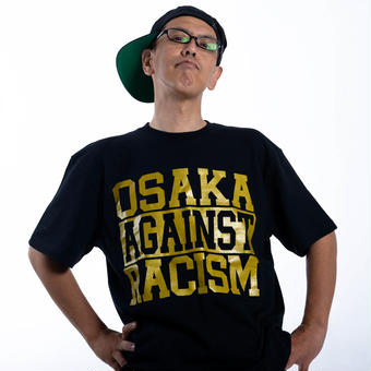 OSAKA AGAINST RACISM 2017 DJ KEN-BO Signature model (black)