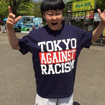 Tee: TOKYO AGAINST RACISM Tee(navy)