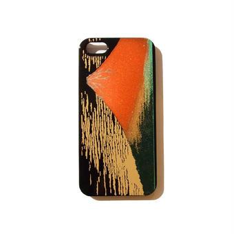 蒔絵柄iPhoneケース 赤富士