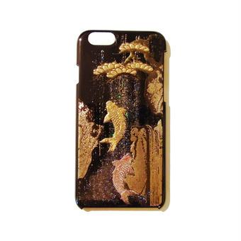 蒔絵iPhone6ケース 鯉の滝登り