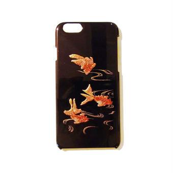 蒔絵iPhone6ケース 金魚