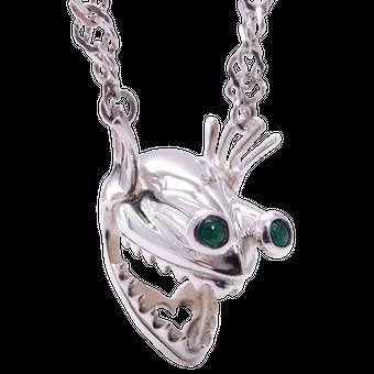 Telescopefish Necklace / テレスコープフィッシュ・ネックレス