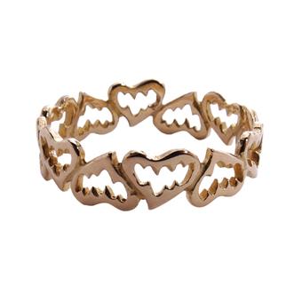 Fanged Heart Ring (K18) / ファングド・ハート・リング (18金)