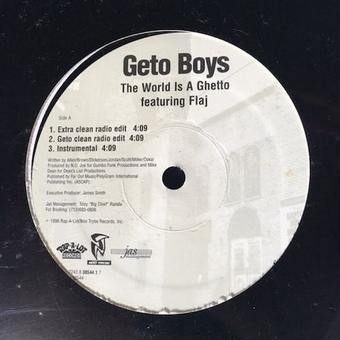 "(12"") GETO BOYS	 / THE WORLD IS A GHETTO    <HIPHOP / G-RAP>"