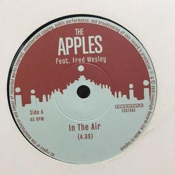 """(7""""/used) THE APPLES feat.Fred Wesley / In The Air       <イスラエル / funk / rare groove>"""