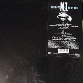 (LP) M.T. / lord have mercy on my soul lp   <HIPHOP / RAP / G-RAP>