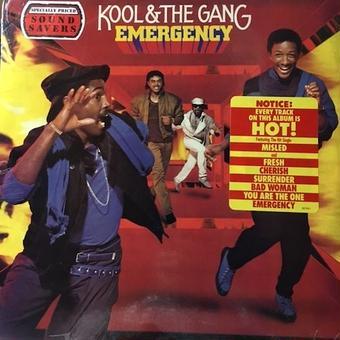 (LP) KOOL&THE GANG / EMERGENCY  <FUNK / Boogie /新品未開封 >