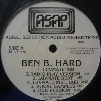 "(12"") Ben B. Hard / Luvmate        <HIPHOP / G FUNK / 新品シールド>"