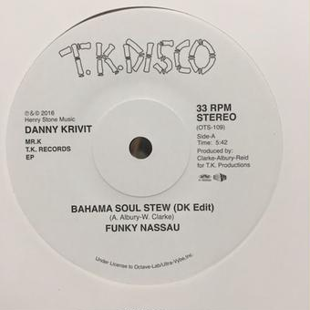 "(7"") Danny Krivit presents / Bahama soul stew(DK EDIT) - For the Love of Money(DK EDIT)"