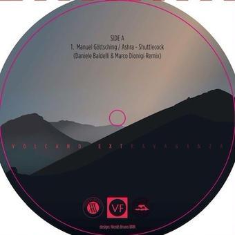 "(12"") Manuel Gottsching Ashra - Shuttlecock Remix - Daniele Baldelli & Marco Dionigi"