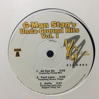 "(12"") G-Man Stan / G-Man Stan's Unda-Ground Hits Vol. 1  <HIPHOP / G-RAP>"