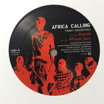 "(12""/ used) Timmy Regisford ‎/  Africa Calling  EP <house / tribal>"