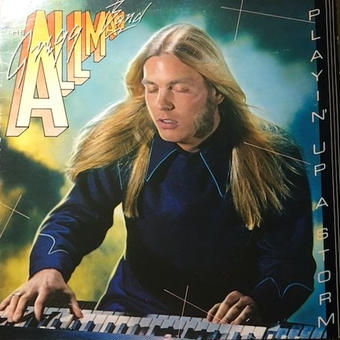 (LP/used) GREGG ALLMAN BAND/ PLAYIN'UP A STORM    <soul / A.O.R>