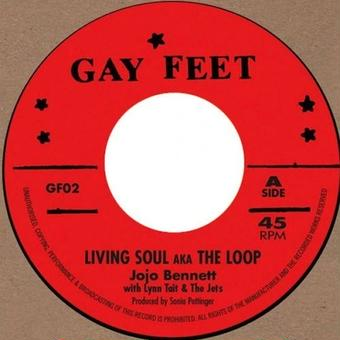 "(7"") Jojo BENNETT / Living Soul aka The Loop  <rocksteady / reissue>"