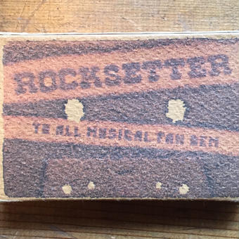 (MIXTAPE/used) rocksetter / TO ALL MUSICAL FAN DEM