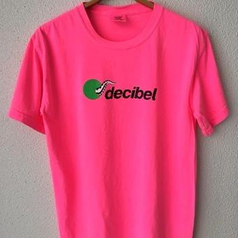 (T-shirts) dBL × D.F SQEZ  Tee - neon pink- S size