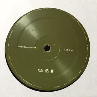 (LP / used) Kendrick Lamar / untitled unmastered.   <HIPHOP / RAP>