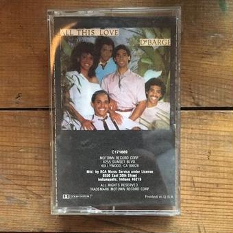 (TAPE/used) DeBARGE / All This Love      <soul / used>