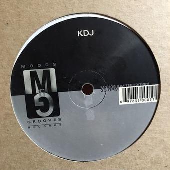 "(12""/used) KDJ a.k.a.MOODYMANN / Untitled   <house / detroit>"