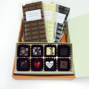 ギフトセット(ボンボンショコラ&タブレットショコラ)