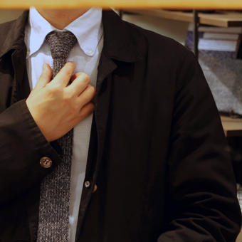 シルクブレード製 ネクタイ