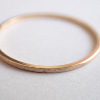 K18 Square Ring