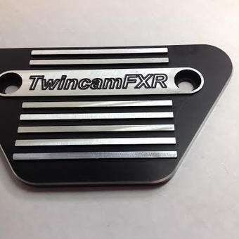 """TwincamFXR"" side plate for FXR FXRT FXRD"