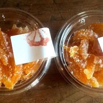 無農薬の柑橘で作ったピール《清見オレンジ》
