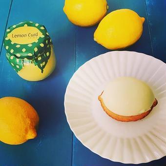 愛しのレモンケーキ5個 +レモンカード1個