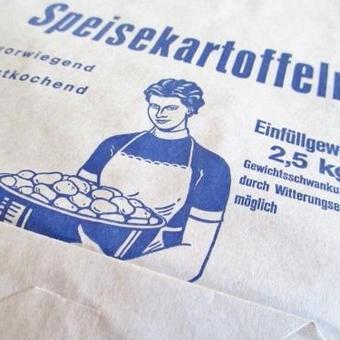 ドイツ:じゃがいも用の紙袋5枚セット