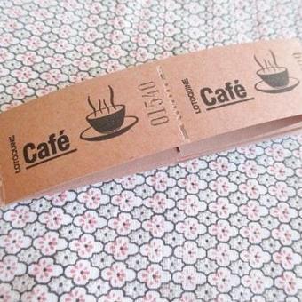 ベルギー:食券10枚セット コーヒー