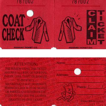 USA:コートの  チケット5枚セット