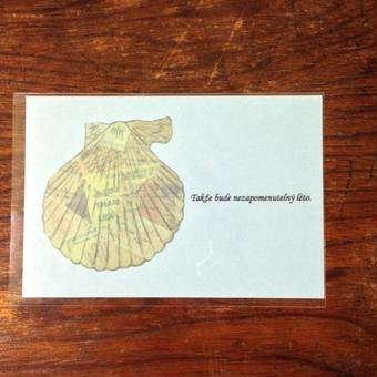 nemunoki:シェルポストカード