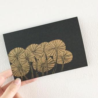 nemunoki:ヤコウタケのポストカード
