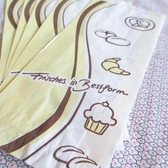 ドイツ:パン屋さんの紙袋5枚セット