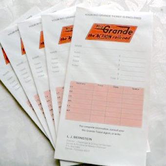 USA:1970年代 鉄道会社の封筒 5枚セット