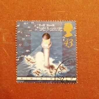 イギリス:消印あり 灯台の切手 1998年 [ws27]
