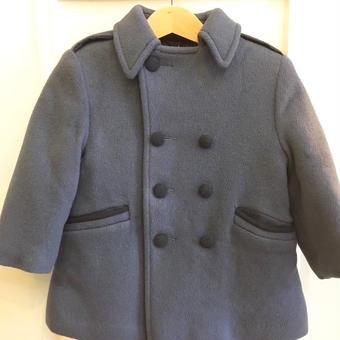 【USED】Gray double coat