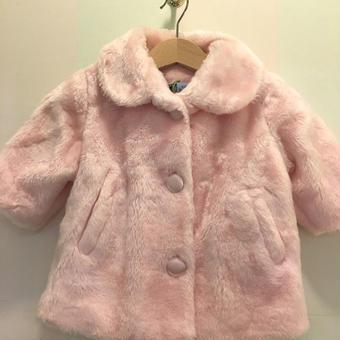 【USED】Pink Fur coat