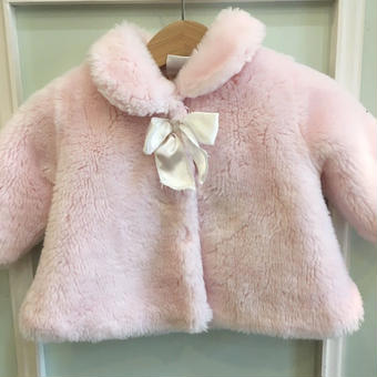 【USED】Pink Boa Outer