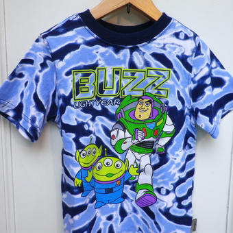 "【USED】""TOY STORY"" Tie-Dye T-shirts"