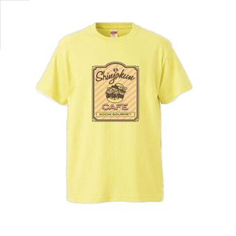 しんじょう君カフェTシャツ 黄色