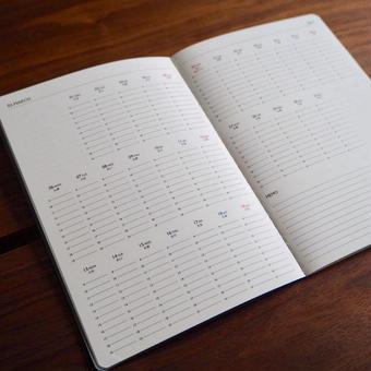 KURASU  BRAND  2018年スケジュール帳  【 B6版 】