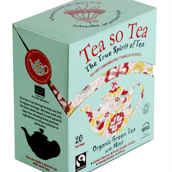 Tea so Tea The True Spirit of Tea オーガニックグリーンwithミント